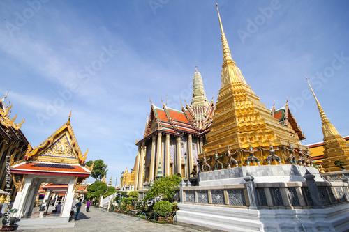 Wat Phra Kaew, Bangkok Thailand