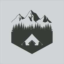 Outdoor Logo. Vector.