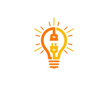 Electric Idea Logo Icon Design Element