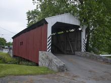 Historic Covered Bridge Pennsylvania USA