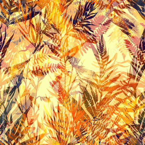 odciski-jesienne-liscie-dzungli-wymieszac-powtarzac-szwu-akwarela-i-cyfrowy-recznie-rysowane-obraz-grafika-mieszana-niekonczaca-sie-tekstura-dla-tekstyliow