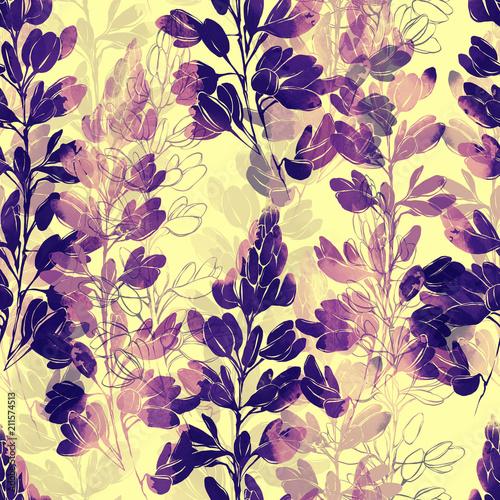 odcisk-kwiaty-prowansji-wymieszac-powtarzac-wzor-akwarela-i-cyfrowy-recznie-rysowane-obraz-mieszana-grafika-medialna-niekonczaca-sie