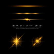 Simple Lighting Effect Vector ...