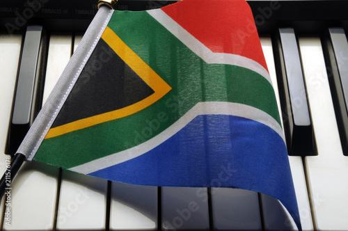 Foto op Plexiglas Zuid Afrika Nkosi Sikelel' iAfrika Die Stem van Suid-Afrika National anthem of South Africa Гимн Южно-Африканской Республики 南非國歌