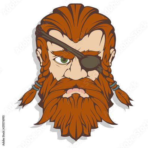 Photo  Scandinavian supreme god of Norse mythology - Odin