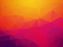 Abstract Orange Purple Sunset ...