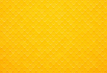 Abstract Yellow Square Tile Ba...