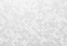 Gray Square Tile Wallpaper