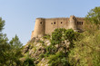 Falak-ol-Aflak Castle on top of mountain in Khorramabad. Iran
