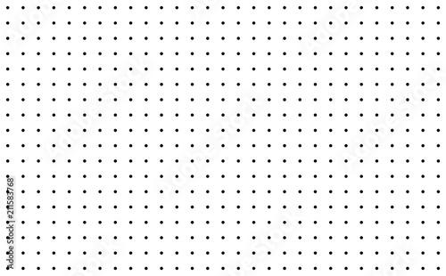 Hintergrund Raster aus schwarzen Punkten Tablou Canvas