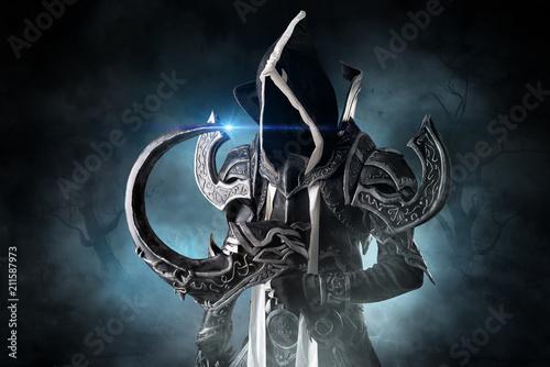 Photo  Dark demon cosplay