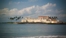 Exterior View To Elmina Castle...