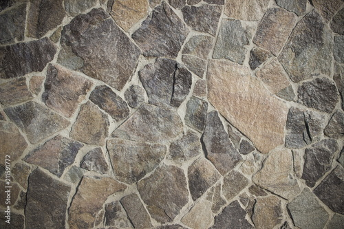 In de dag Stenen Pattern of decorative stone wall background
