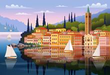Mediterranean Romantic Landsca...