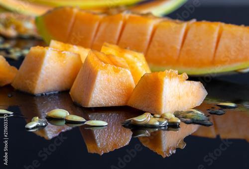 Fresh Juicy Honeydew Melon 8