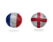 Football Balls With National F...