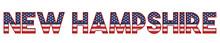 New Hampshire USA State Made F...