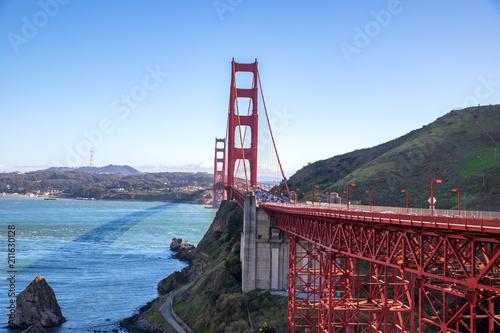 Plakat Vue du Golden Gate