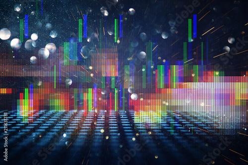 Plakaty retro  futuristic-retro-background-of-the-80-s-retro-style-digital-or-cyber-surface-neon-lights