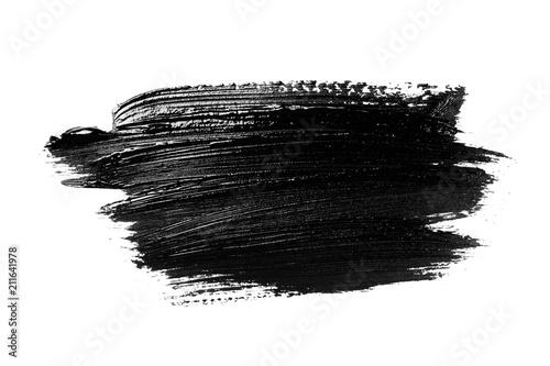 Valokuvatapetti Abstract grunge brush stroke isolated