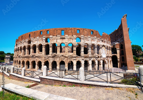 Photo  View of Coliseum