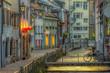 canvas print picture - Freiburg Fischerau