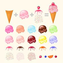 Construct Your Ice Cream. Conc...