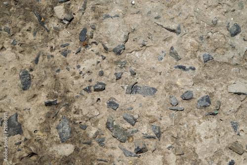 In de dag Stenen Texture of the stone in cement