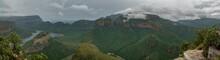 Blyde River Canyon & Three Rondavels, Blyde River Canyon Nature Reserve, Moremela, Mpumalanga, Südafrika, Afrika