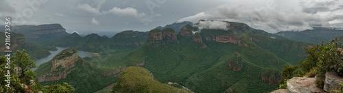 Türaufkleber Afrika Blyde River Canyon & Three Rondavels, Blyde River Canyon Nature Reserve, Moremela, Mpumalanga, Südafrika, Afrika