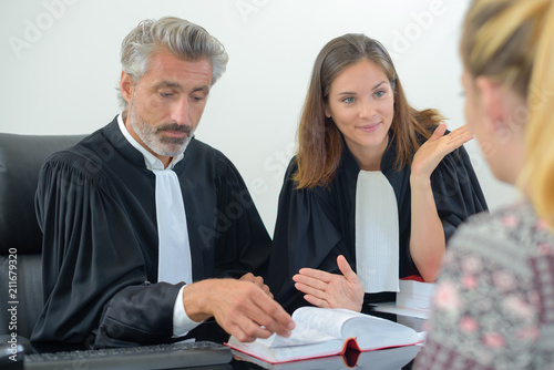 Photo questioning the witness