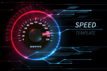 Speed Motion Line Vector Abstr...
