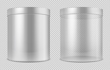 Cylinder Empty Transparent Gla...