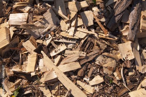 Fotografia, Obraz  Talaş, yonga, odun parçaları