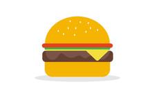 Vector Of Hamburger