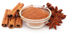 Some Aromatic Cinnamon With St...