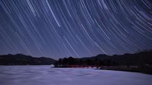 Long Exposure Night Sky Star T...