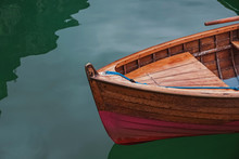 Wooden Boat On The Beautiful L...