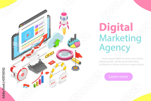 Digital marketing agency Wallpaper Mural