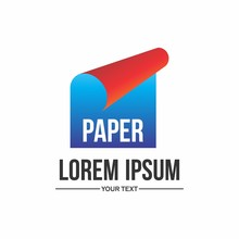 Paper Logo Design With Simple ...