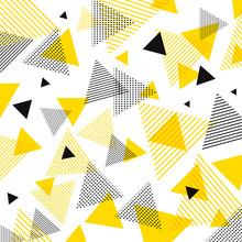 Abstract Modern Yellow, Black ...