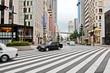 Вид улиц и площадей в дневное и ночное время, город Чиба, Япония