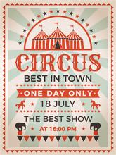 Retro Poster Invitation For Ci...