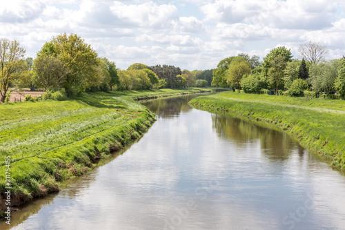 Keuken foto achterwand Rivier Fluss Hase in Niedersachsen, Deutschland