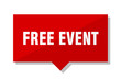 free event red tag