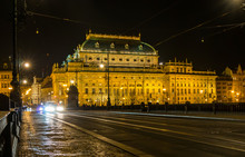 National Theatre And Road On B...