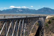 Rio Grande Gorge Bridge, Near ...