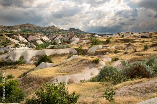 Hobit landscape Cappadocia Canvas Print