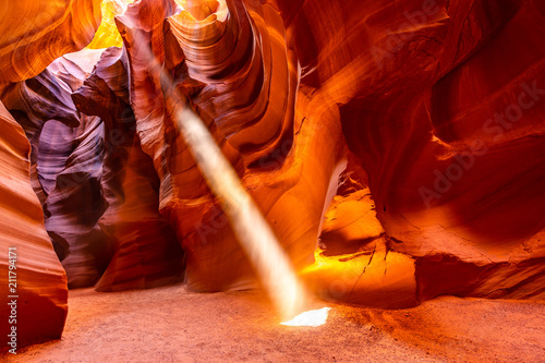 Keuken foto achterwand Rood paars Upper Antelope Canyon