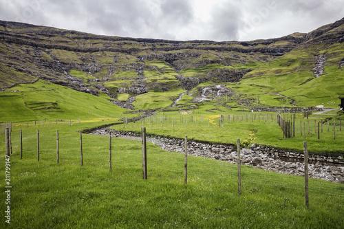 Staande foto Europa landscap in faroe island